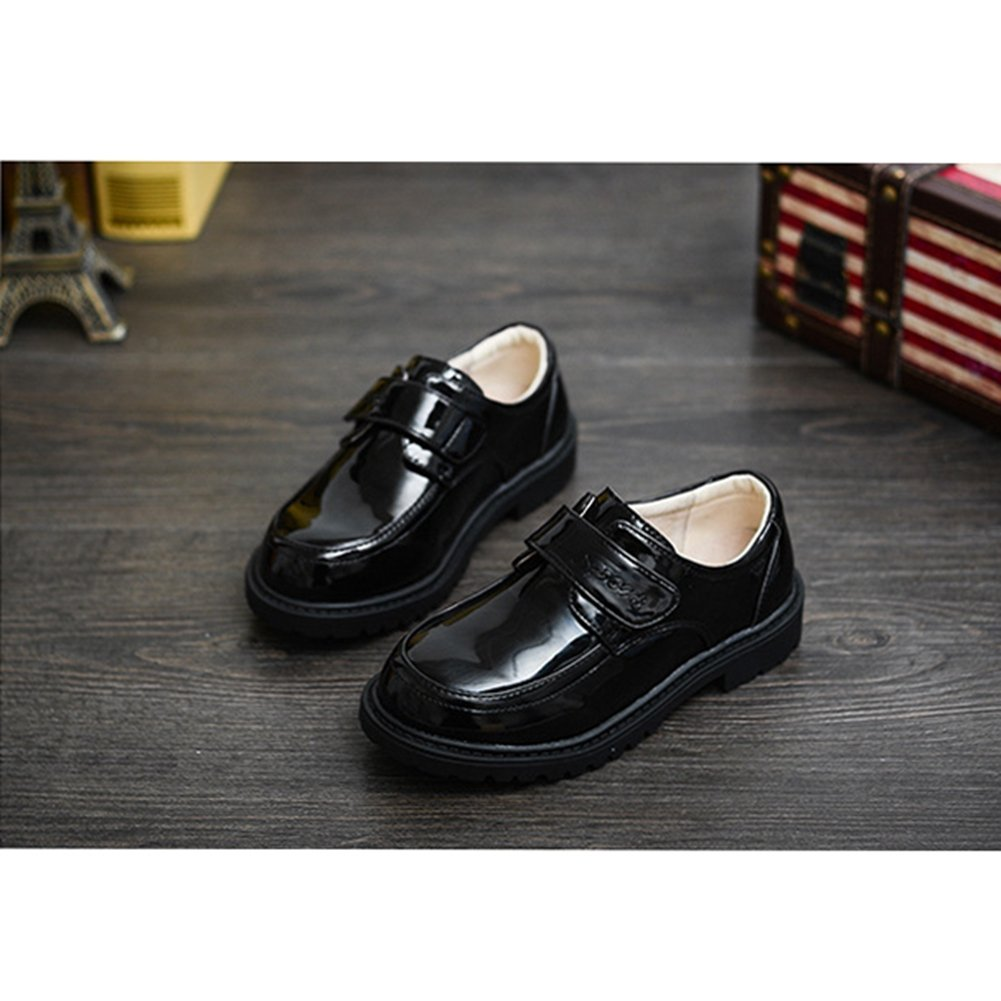 T-JULY Boys Slip-Up Oxford Dress Shoes Comfortable Loafer Casual Shoes Toddler//Little Kid