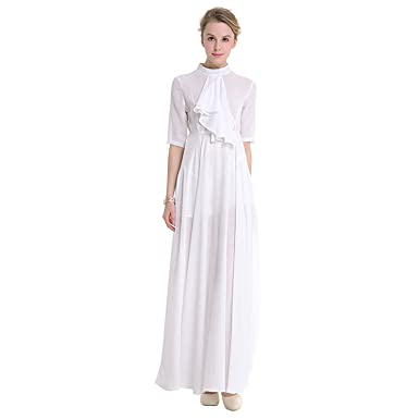 b91b6fd2b065 TOOGOO(R) Original Design Spring Autumn Women High-end Chiffon Fairy Dresses  Dress