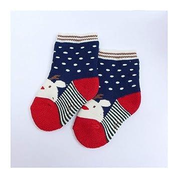 KVEYY 3 Pares De Calcetines Engrosamiento De Algodón De Niños Y Niñas Recién Nacidos para Mantenerse