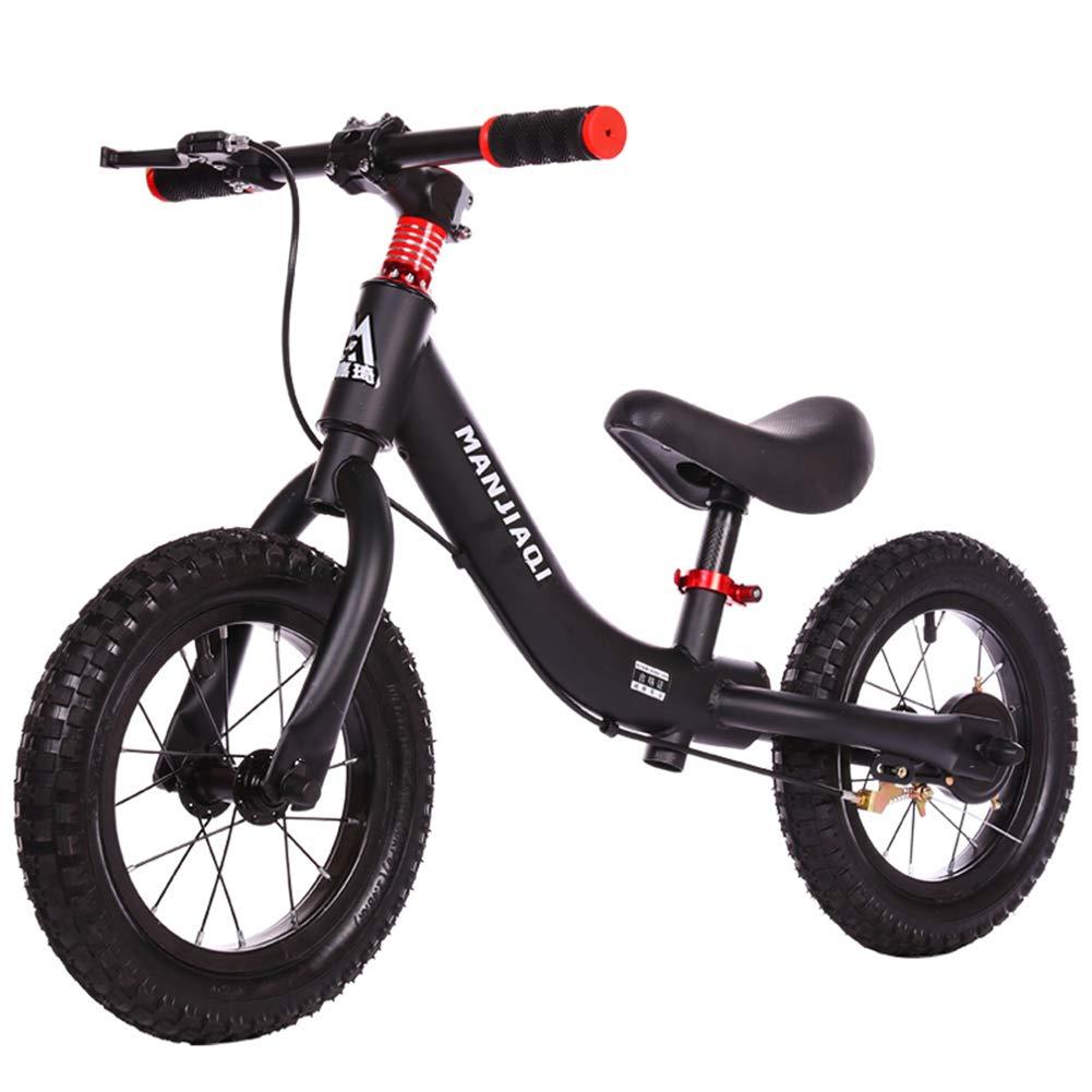 1-1 12 Zoll Walker Roller Mit Bremsen,Kinderfahrrad 2-6 Jahre Alt Kinder Balance Auto Rutsche Auto Aufblasbare Reifen Pedal Fahrrad