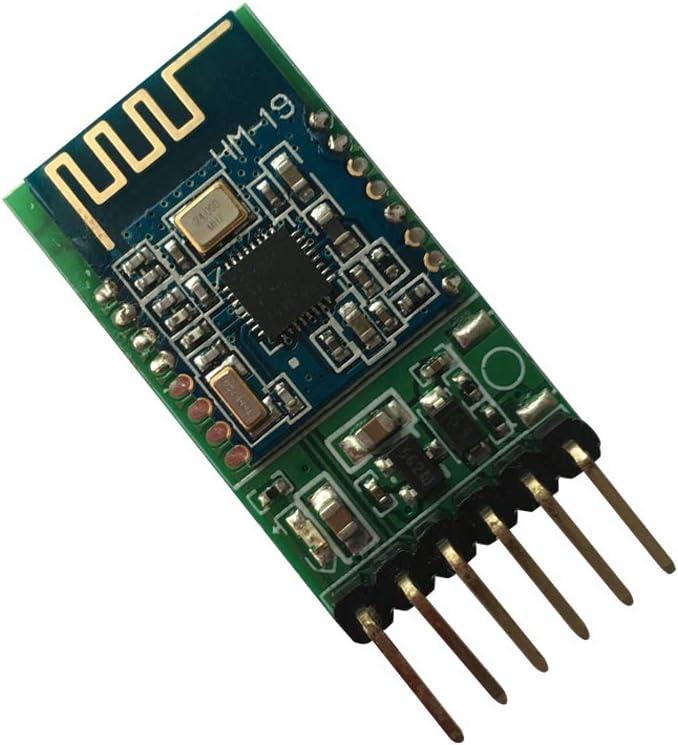 DSD TECH HM-19 Módulo Bluetooth 5.0 BLE con Chip CC2640R2F para Arduino y DIY