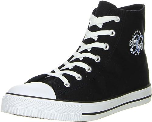 Schuhe Trentasette Damen Herren Sneaker High Cut schwarz
