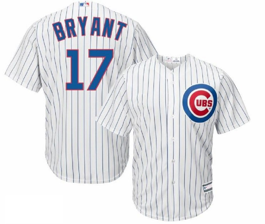 7f3d7cc4a49 Amazon.com   Outerstuff Kris Bryant Chicago Cubs  17 Youth Home Jersey White    Sports   Outdoors