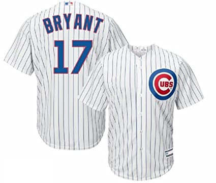 on sale 18693 d9692 Outerstuff Kris Bryant Chicago Cubs #17 Youth Home Jersey White