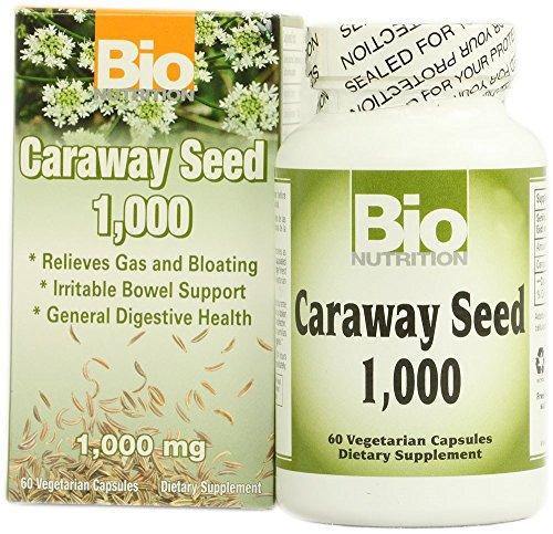 BIO NUTRITION INC, CARAWAY SEED 1,000IU, 60 VCAP