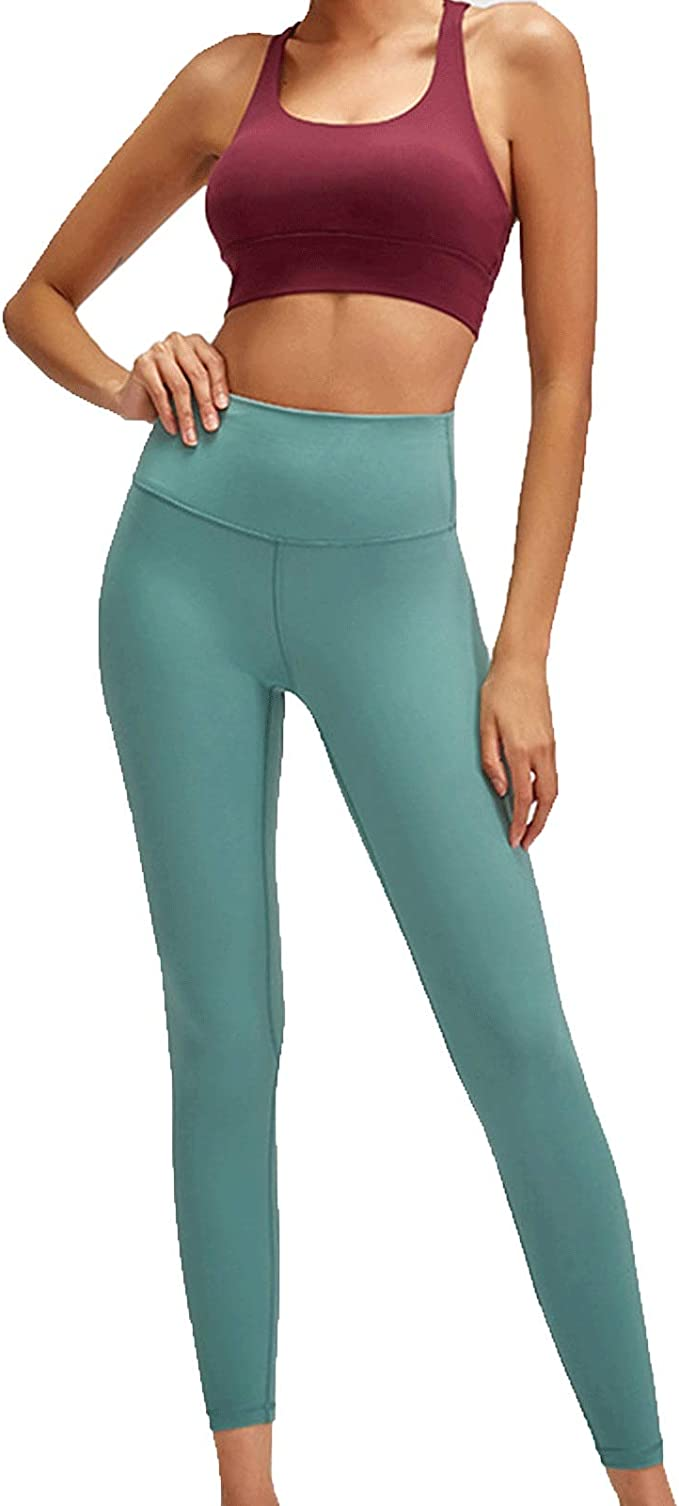 Yoga Hose Hohe Taille Sport Leggings Frauen, Hocke Proof
