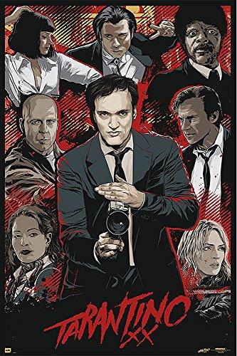 "Tarantino XX Poster ""Movie Collage"" (24""x36"")"