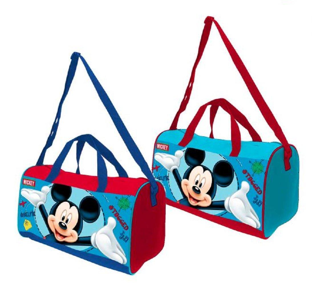 Mickey Mouse 2018 Bolsa de Deporte Infantil, 38 cm AST4195