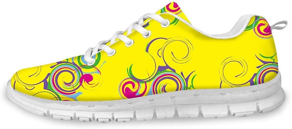 HMML Women's Fashion Yellow Sneakers