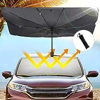 $30 » JoyTutus New Car Sun Umbrella, Car Umbrella for Front Windshield, Sun Protection Sunshade…