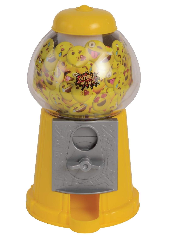 Emoji Gumball Machine; Gumball Bank with Starter Gumballs Kangaroo Manufacturing KM-10158-675