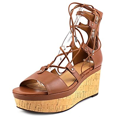 Womens Sandals COACH Barkley Saddle Semi Matte Calf
