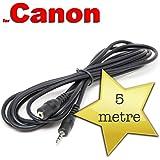 5 m-Cavo prolunga per Canon RS-60E3-Otturatore a distanza