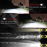 OOOUSE H4 LED Headlight Bulb, Waterproof