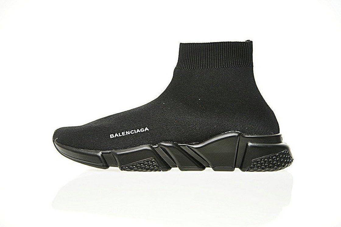 continuare linea Master  Balenciaga Speed Stretch-Knit Mid Trainers Triple Noir Scarpe da Corsa Uomo  Donna: Amazon.it: Scarpe e borse