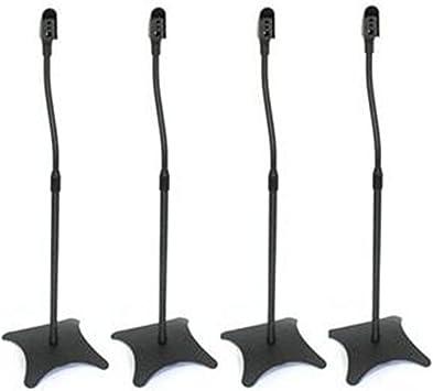 Juego de altavoces sat/élite universales para montaje en pared soporte de techo y abrazadera con rotaci/ón ajustable y /ángulo de inclinaci/ón para altavoces Kcnsieou