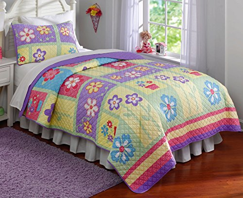 Pem America Happy Owls Quilts, Queen (Pem America Twin Bedding)