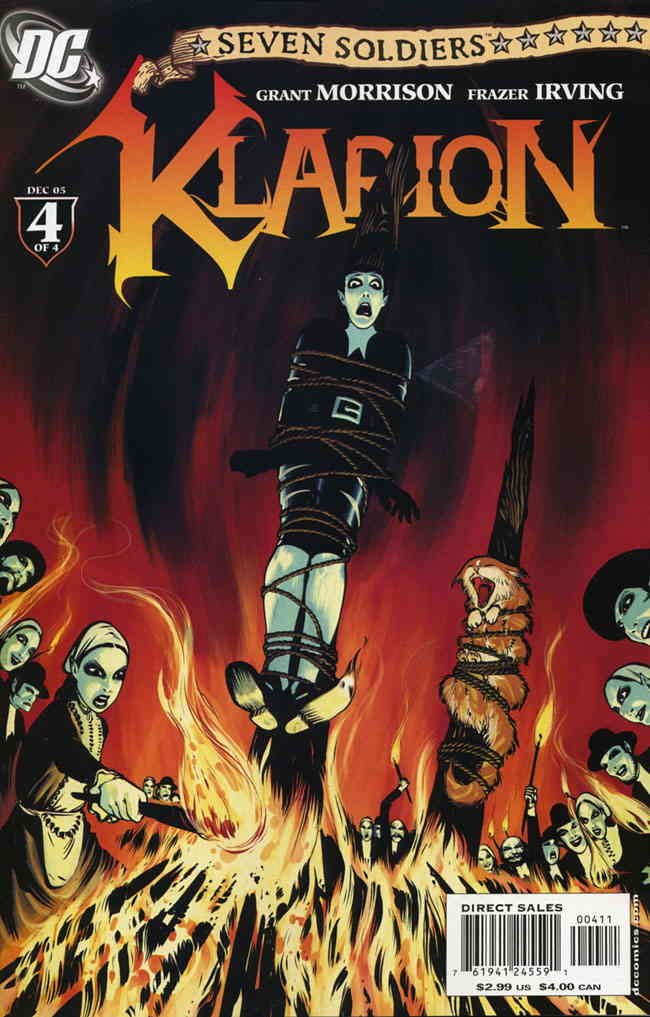 Seven Soldiers: Klarion the Witch Boy #4 VF ; DC comic book