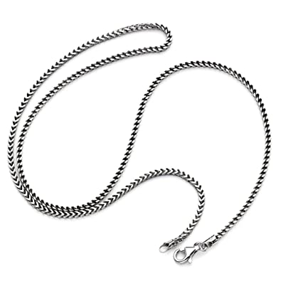 b0e97646574d0 D Jewelry 925 Sterling Silver Solid Franco Chain Necklace 1.8mm Thick Made  in Italy