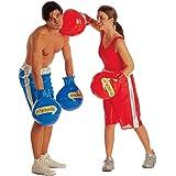 Gants de boxe gonflables rouges gant boxeur pour déguisement de boxeur gant de boxe gant accessoire déguisement