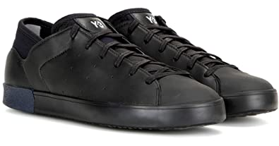 112e455c1822 Image Unavailable. Image not available for. Color  adidas Y-3 by Yohji  Yamamoto Y-3 Women s Smooth Court Sneakers