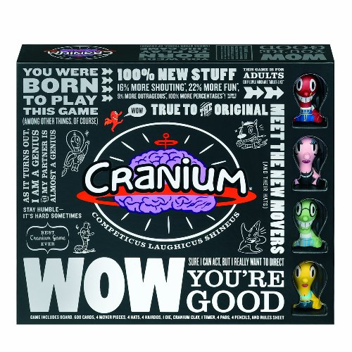 Hasbro Cranium WOW Board Game -
