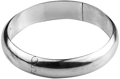 3c91bb2ccfc3f0 Image Unavailable. Image not available for. Colour: Arisidh Stylish Design  92.5 Pure Sterling Silver Kada for Men and Boys.