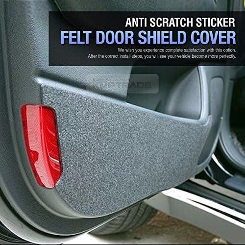 Felt Inside Door Shield Cover Scratch Kick Protector for HYUNDAI 2016-18 Tucson