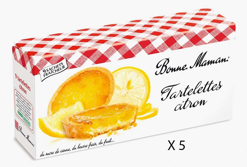 Bonne Maman Lemon Tarts - x 5 boxes