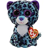 Ty Beanie Boos Plush - Lizzie the Leopard 15cm (Exclusive rare)