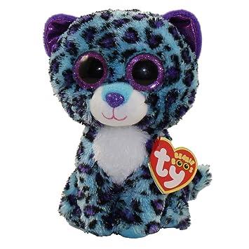Ty Beanie Boos Plush - Lizzie the Leopard 15cm (Exclusive rare)   Amazon.co.uk  Toys   Games ec656076ec73