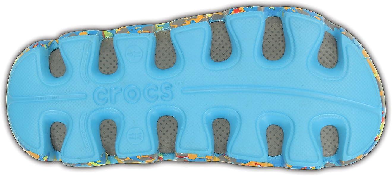 Crocs Duet Sport Marbled Clog Shoes