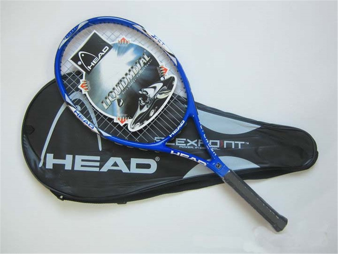 Amazon.com : Tennis Racket Raquete De Tennis Carbon Fiber Top Material Tennis String Raquetas De Tenis Black : Sports & Outdoors
