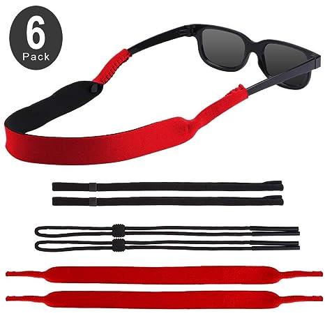 Amazon.com: EnriQ - Correas para gafas de sol, tres tipos de ...