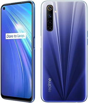 realme 6 8 RAM 128 ROM Smartphone Móvil, 6.5