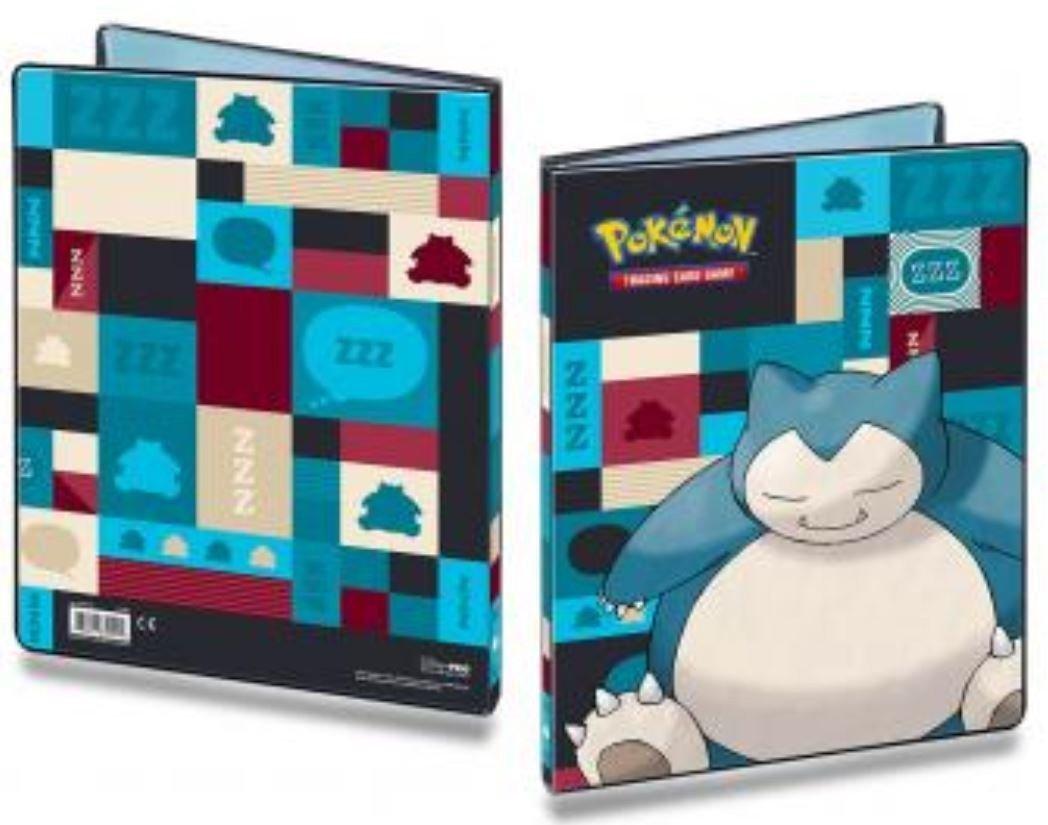 Ultra Pro Pokemon Snorlax 9-Pocket Portfolio 85529