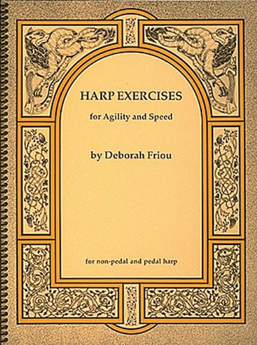 Harp Exercises For Speed And Agility For Non-Pedal & Pedal Harps