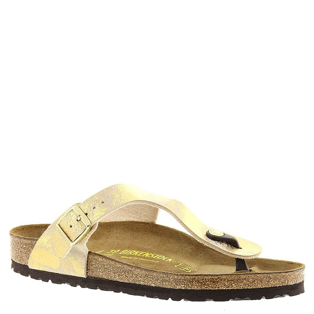 new style c8a8e 0d1fc Galleon - Birkenstock Women's Gizeh Stardust Gold 40 R