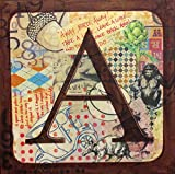Large Alphabet Block Painting--A