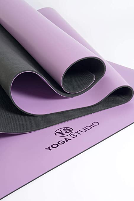 YogaStudio The Grip - Esterilla de Viaje (2 mm), Morado ...