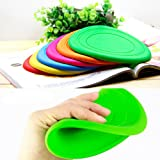 Foldable Dog Training Toy Frisbee Flying Disc Tooth Resistant Outdoor Large Dog Pet Fetch Toy