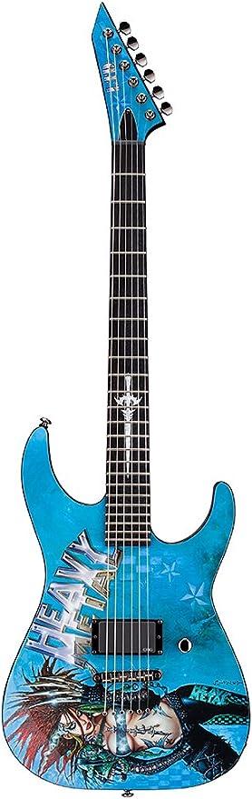 Esp Ltd Heavy Metal 1 gráfico edición limitada guitarra con funda ...