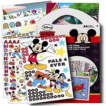 Disney Mickey Mouse Stickers Travel Activity Set