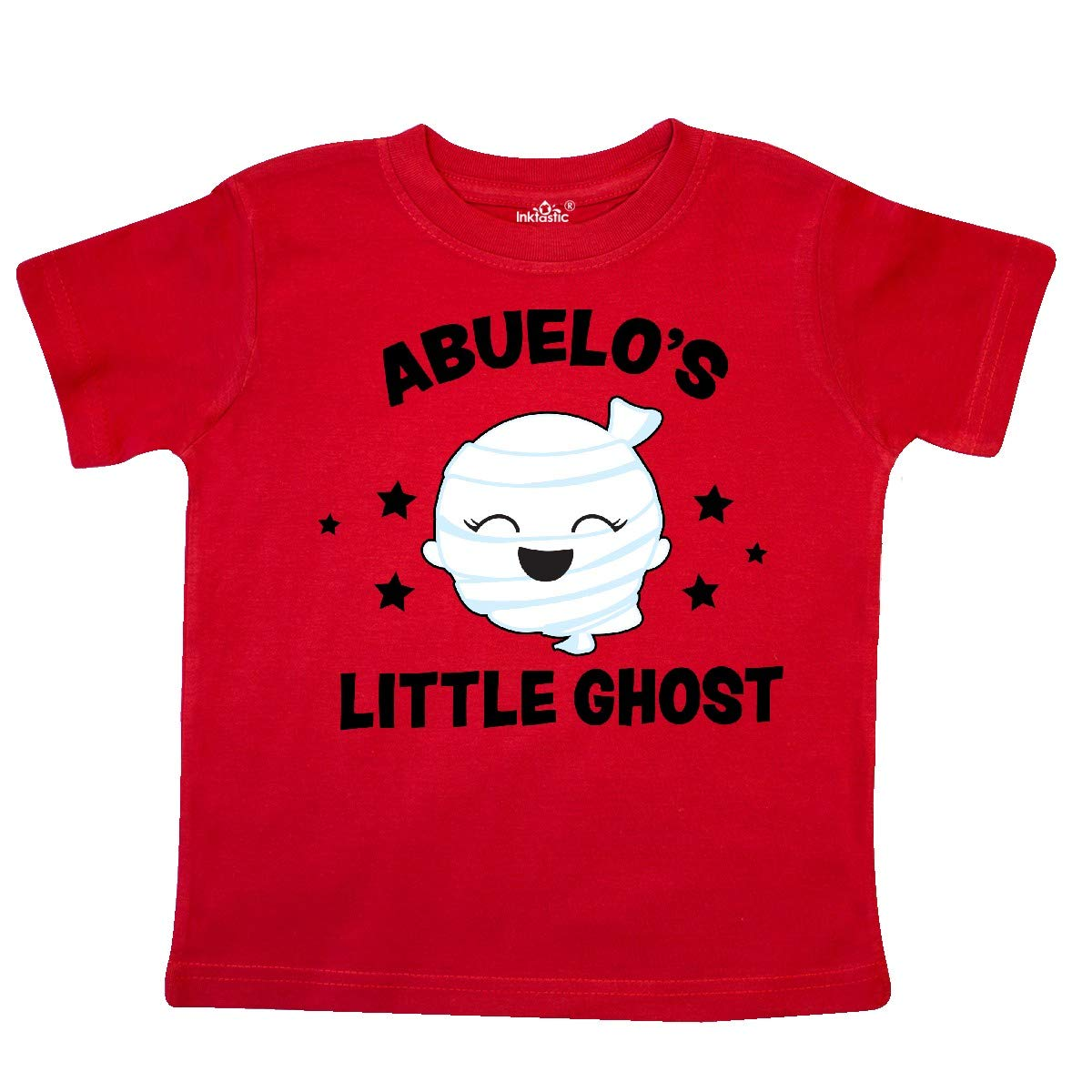 inktastic Cute Abuelos Little Ghost with Stars Toddler T-Shirt