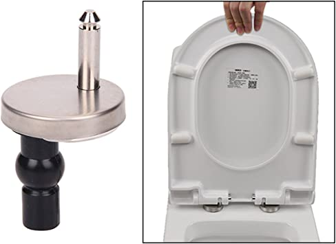 Multiware Toilet Seat Fittings Top Fix Hinge Pack Replacement