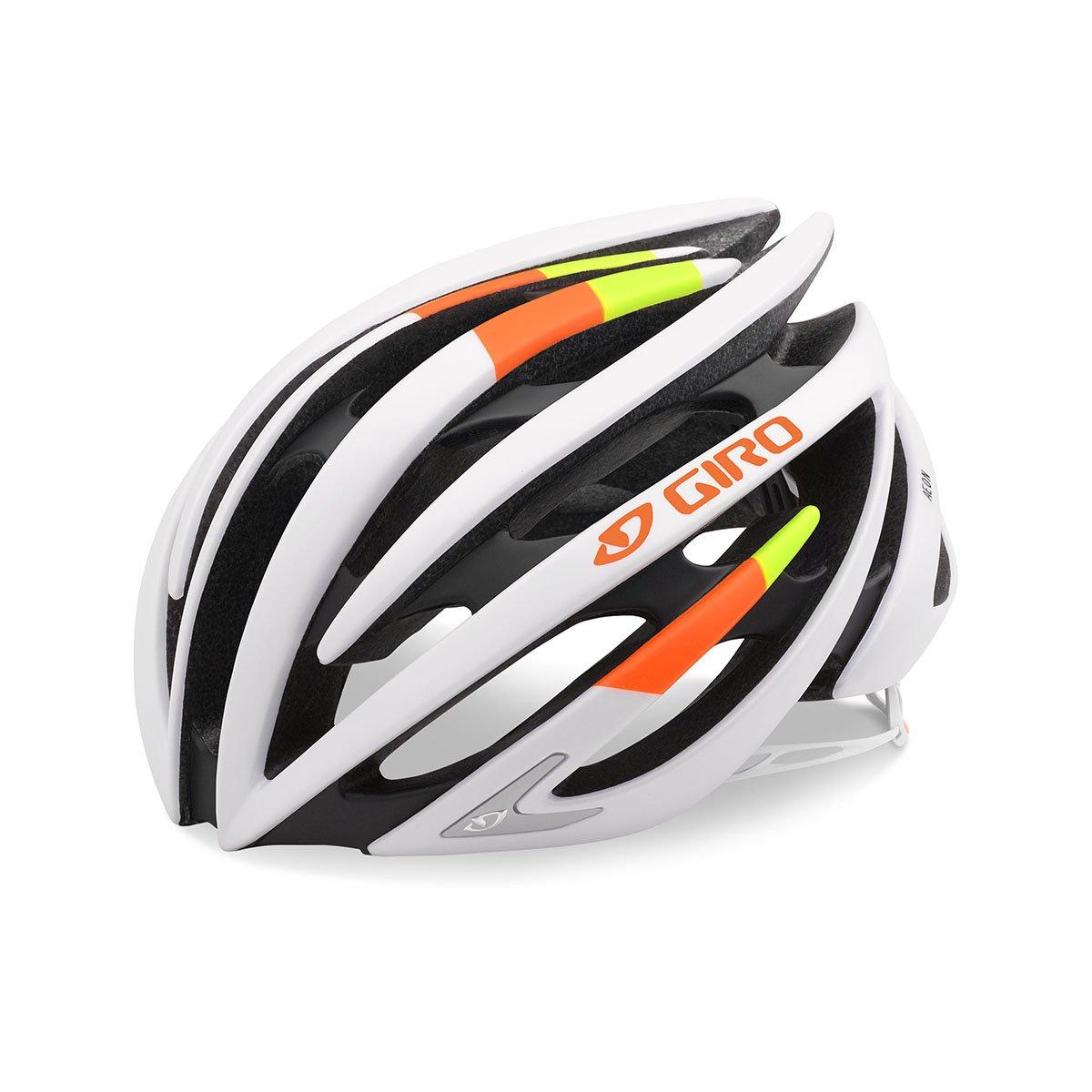 Giro Aeon Road Helmet Matte White Lime Flame, Small