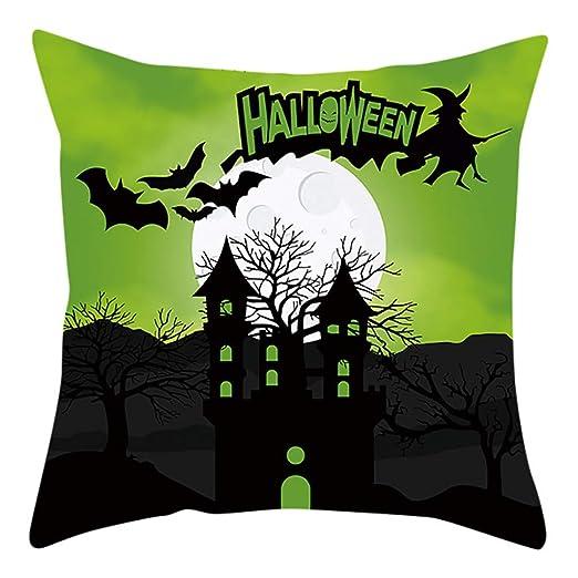 Funda De Almohada Impresa Individual De Halloween Sistema ...