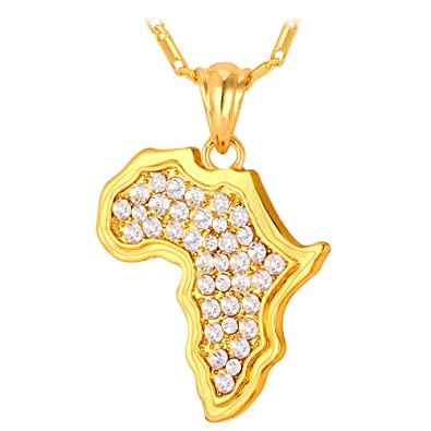Amazoncom Rhinestone Crystal Necklace Chain 18K Stamp Gold Plated