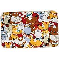 Baoblaze 60x90cm Cotton Baby Changing Pad Foldable Waterproof Travel Diaper Mat Crawling - Dog, 90x60cm