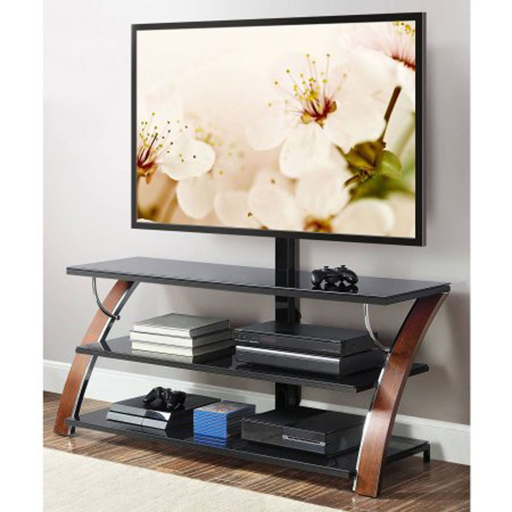 Gracelove 3-in-1 Flat Panel TV Stand for TVs up to 65'' by Love+Grace